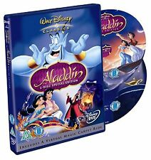 WALT DISNEY'S ALADDIN 2 DISC SPECIAL EDITION DVD ALADIN UK R2 BRAND NEW ORIGINAL