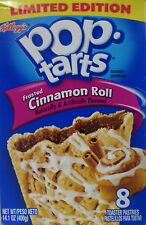 Kellogg's POP-TARTS Frosted CINNAMON ROLL LIMITED EDITION