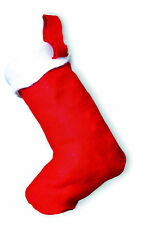 XMAS STOCKING SECRET SANTA GIFT RED & WHITE BOOT CHRISTMAS TOY OFFICE PRESENT