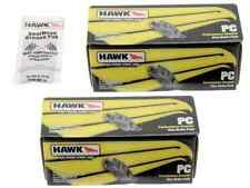 Hawk Performance Ceramic Brake Pads Front & Rear Honda Accord EX Acura TSX