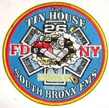USA NEW YORK EMS SOUTH BRONX THE TIN HOUSE FEUERWEHR ,Aufnäher Patch Fire
