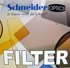 "New Schneider 4x5.65"" Coral 1/8 Glass Filter Tiffen Filters Panavision Size"