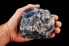 "Blue Calcite 4.5"" 2 Lb Healing Crystals Throat Chakra Reiki Metaphysical Stone"
