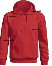 Adult Plain Blank Hoodies Sweather Hooded Pullover Sweatshirt S -3XL Hoodie
