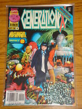 X-MEN GENERATION X #19 VOL1 MARVEL ONSLAUGHT IMPACT 2 SEPTEMBER 1996
