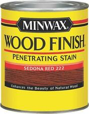 NEW MINWAX SEDONA RED QUART INTERIOR OIL BASED WOOD FINISH STAIN 9141292