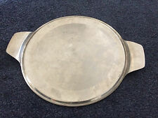 """SUNNEX STAINLESS STEEL 12"""" CAKE PLATE RESTAURANT/ CANTEEN/PUB/CAFE"""