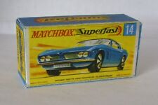 Repro Box Matchbox Superfast Nr.14 Iso Grifo