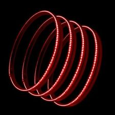 """Oracle Lights 4215-003 15.5"""" LED Wheel Rings - Red"""