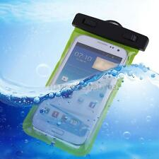 Waterproof Pouch Bag Case Armband 3.5mm Earphone Jack  for Samsung Phone