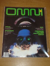 OMNI #9 VOL 3 1981 JUNE VF OMNI PUBLICATIONS UK MAGAZINE