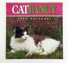 Vintage 1995 2017 Hoyle Cat Fancy Magazine Calendar
