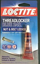 Henkel LOCTITE THREADLOCKER BLUE 242 NUT & BOLT LOCKER 0.2 oz.(6ML)