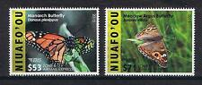 Niuafo'ou - 2015 Butterflies EMS Rates Part 2 Postage Single Stamps Set