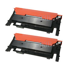 2 x Compatible Black Toner Cartridge for Samsung CLT-K406S CLP-365W CLX-3305FW