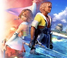 Final Fantasy X 10 Tidus & Yuna mouse pad free ship