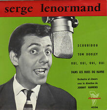 SERGE LENORMAND SCOUBIDOU FRENCH ORIG EP JOHNNY HAWKINS