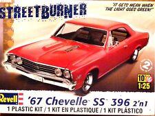 Revell Monogram 1:25 '67 Chevelle SS 396 Car Model Kit