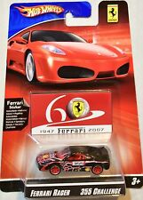 HOT WHEELS 2008 FERRARI RACER 355 CHALLENGE