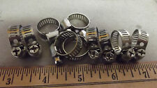 """10 # 04,(5/16""""BAND )(ALL STAINLESS STEEL,BAND,HOUSING & SCREW,3 WAYS,1/4"""".2.2.**"""