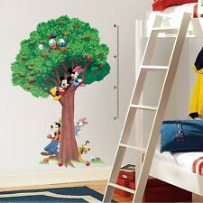 "Disney MICKEY MOUSE 60"" TREE GROWTH CHART Wall Decals Vinyl Room Decor Stickers"