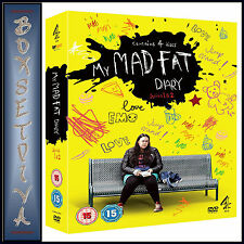 MY MAD FAT DIARY - COMPLETE SERIES SEASONS 1 & 2  ***BRAND NEW BOXSET ****