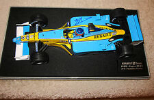 FERNANDO ALONSO AUTOGRAPHED  2003 R23 RENAULT FULL TOBACCO LIVERY 1:18 SCALE