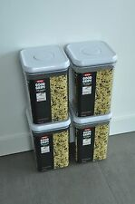 OXO POP Square Container 4-qt w/Airtight Seal Set of 4, Ships Free
