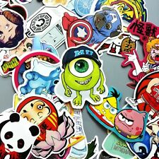 100Pcs Skateboard Vinyl Sticker Skate Graffiti Laptop Luggage Car Bomb Decal Lot