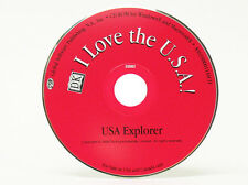 I Love the USA - Windows 7 / Vista / XP / 95/98 Computer PC Game for Kids