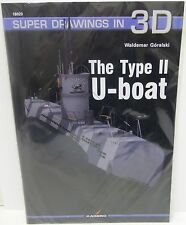 Kagero Publishing 16020 - Super Drawings In 3D - The Type II U-Boat