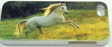 iPhone 5 Cover Case Hardback Horse Pony In The Paddock Plastic Free Shipping