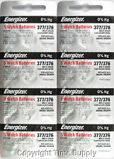 40 pc 377 / 376 Energizer Watch Batteries SR626SW SR626 0%HG