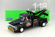 WELLY 1:18 1956 FORD F-100 TOW TRUCK ART 19834W