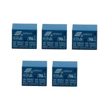 5Pcs Mini 3V DC SONGLE Power Relay SRD-3VDC-SL-C PCB Type Set