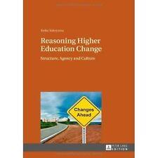 Reasoning Higher Education Change, Keiko Yokoyama