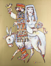 """""""The Wedding"""" by Jovan Obican Signed Limited Edition of 1000 Lithograph Print"""