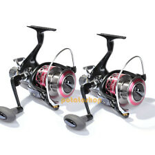 Lot 2 YOSHIKAWA Sea Fishing Spinning Reel 11BB 6000 5.5 Baitfeeder Right Left