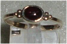 RING 333er GOLD GRANATA, Tg. 60 Ø 19,1 mm (da3437)