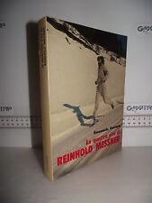 LIBRO Emanuele Cassarà LE QUATTRO VITE di REINHOLD MESSNER ed.1981