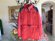 The North Face, Wmn's Sz 8, Belted Waist Jacket,Zip Pockets Everywhere,Stow Hood