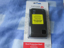 TORTOISE HARD PROTECTIVE SHELL SUITABLE FOR SAMSUNG GALAXY  ACE BLACK