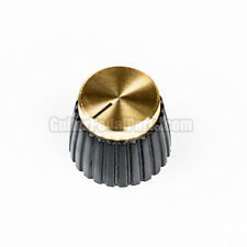 10x Gold British Style Knobs for guitar pedals