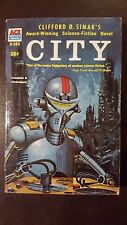 "Clifford D. Simak, ""City,"" 1952, Ace D-283, VG, 1st"