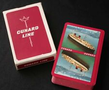 Vintage CUNARD Lines QUEEN ELIZABETH I Playing Cards