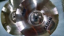 "Pair Sabian 14"" AAX X- Plosion hi-hats hihat top and bottom. new condition"