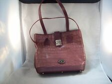 Dooney & Bourke Brown Leather Tote/Shopper & Matching Wristlet