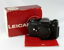 Leica Leicaflex SL, black chrome, #1237081, with original instruction manual