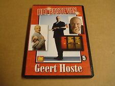 DVD / HET BESTE VAN GEERT HOSTE