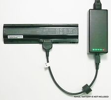 External Laptop Battery Charger for HP TouchSmart tm2 Series 582215 586021 LU06